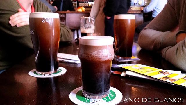 Guinnessiä Dublinissa - www.blancdeblancs.fi