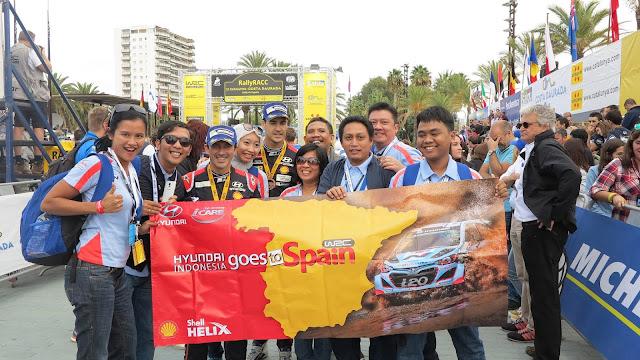 Pemenang Nonton WRC Hyundai 2017