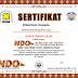 Contoh Sertifikat NDO NASA cdr (New Distribution Orientation)