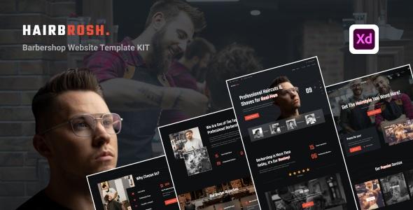 Best Barbershop Website Template