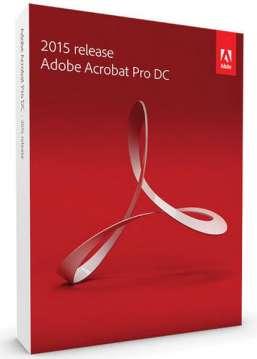 AdobeAcrobat Pro DC 2015
