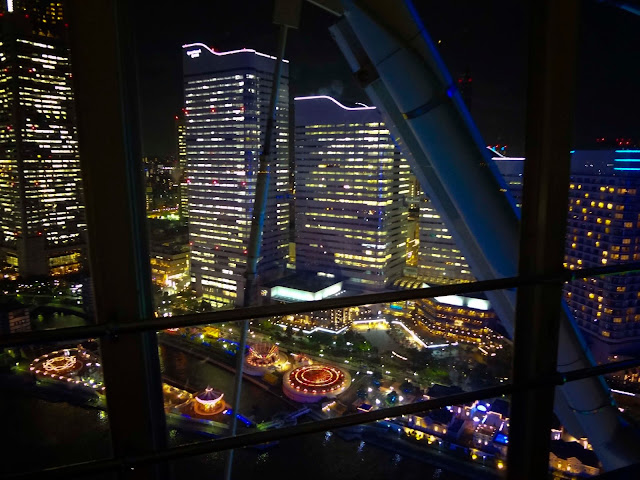 View from Ferris Wheel | Yokohama CosmoWorld | Chichi Mary Blog