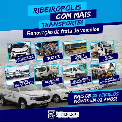 A PREFEITURA DE RIBEIRÓPOLIS TRABALHA PARA O POVO!
