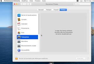 webcam Mac