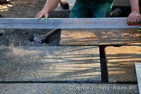 Gartenwege aus Granit
