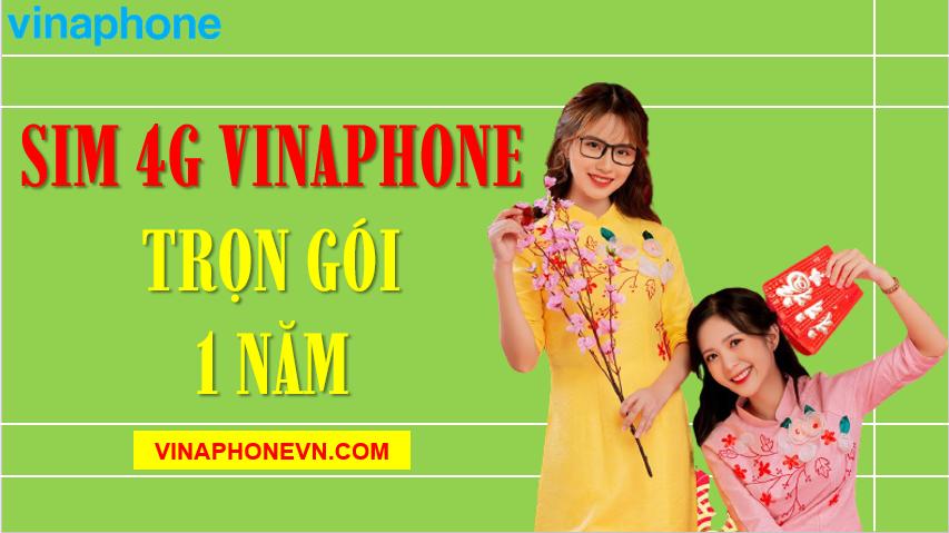 Sim 4G Vinaphone trọn gói 1 năm