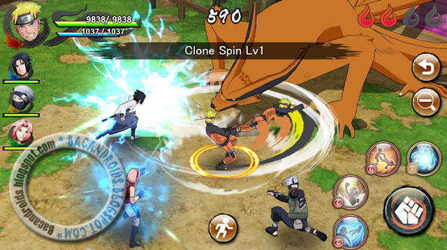 cara download naruto x boruto ninja voltage