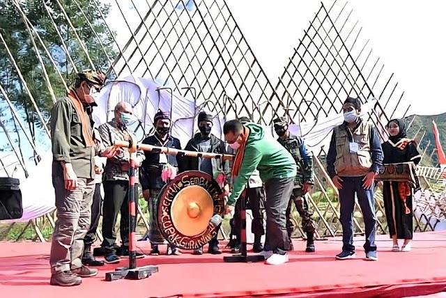 Gubernur NTB buka jalur pendakian Gunung Rinjani
