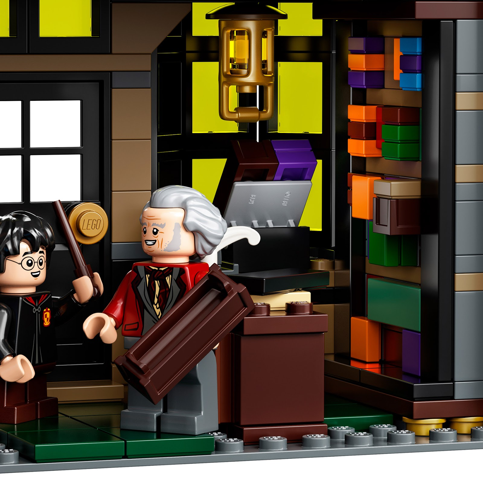 1 X LEGO Harry Potter Plate Gryffindor Red Dark Tile 2x2 Gryffindor New