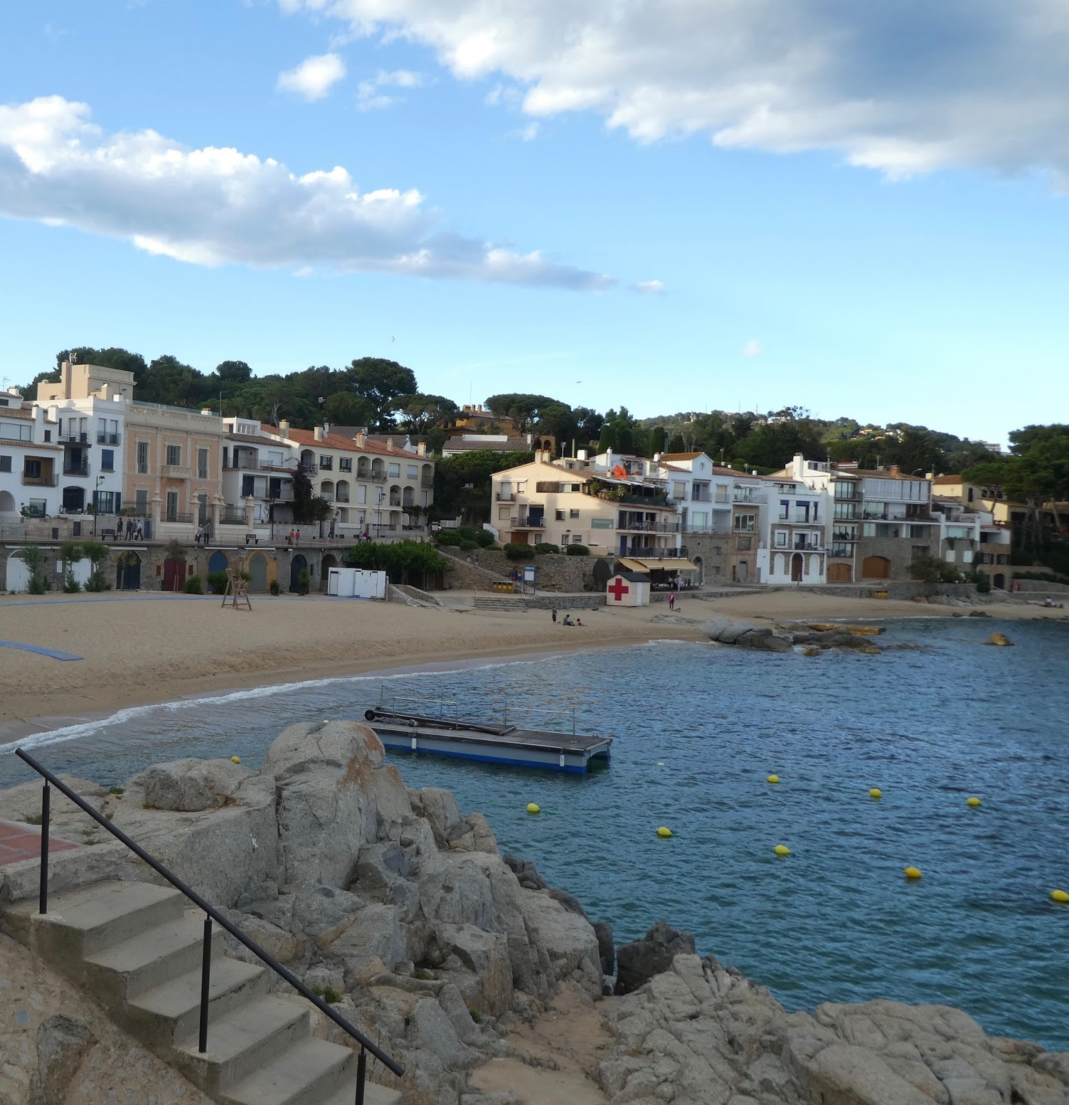 The beautiful coastal town of Calella de Palafrugell