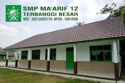 Lowongan Kerja Guru SMP MA'ARIF 12 TERBANGGI BESAR