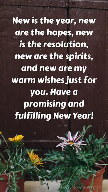 New Year 2020 Messages