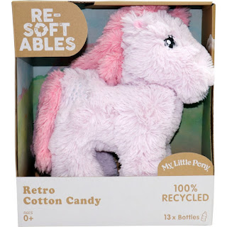 My Little Pony Resoftables Retro Cotton Candy Plush