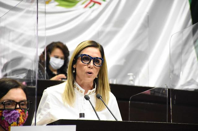 Fabiola Loya asume la coordinación del Grupo Parlamentario de MC en la Cámara de Diputados