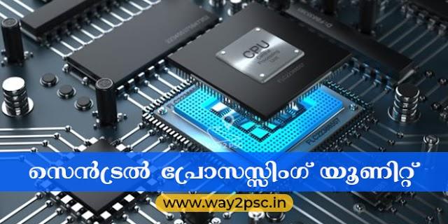 സെൻട്രൽ പ്രോസസ്സിംഗ് യൂണിറ്റ് (CPU)