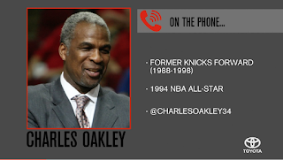 Charles Oakley: James Dolan Is On Same Level As Donald Sterling