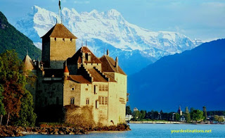 The Chillon Castle Switzerland