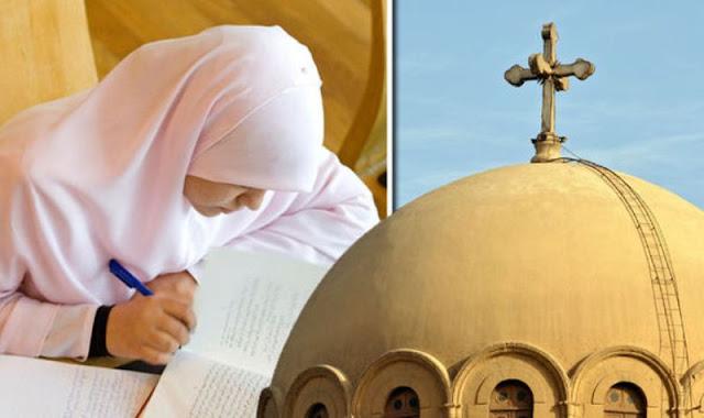 Mesir Paksa Pelajar Kristen Pakai Jilbab dan Hafal Alquran