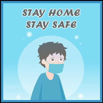 Infection prevention stay home save lives