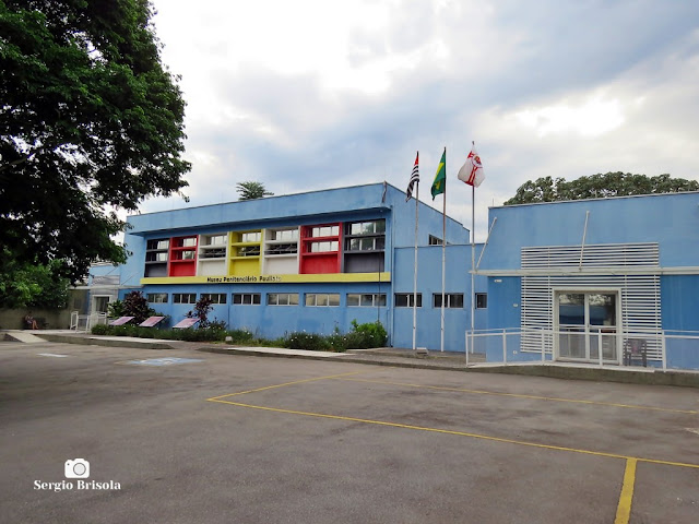 Vista ampla do Museu Penitenciário Paulista (MPP) - Carandiru - São Paulo