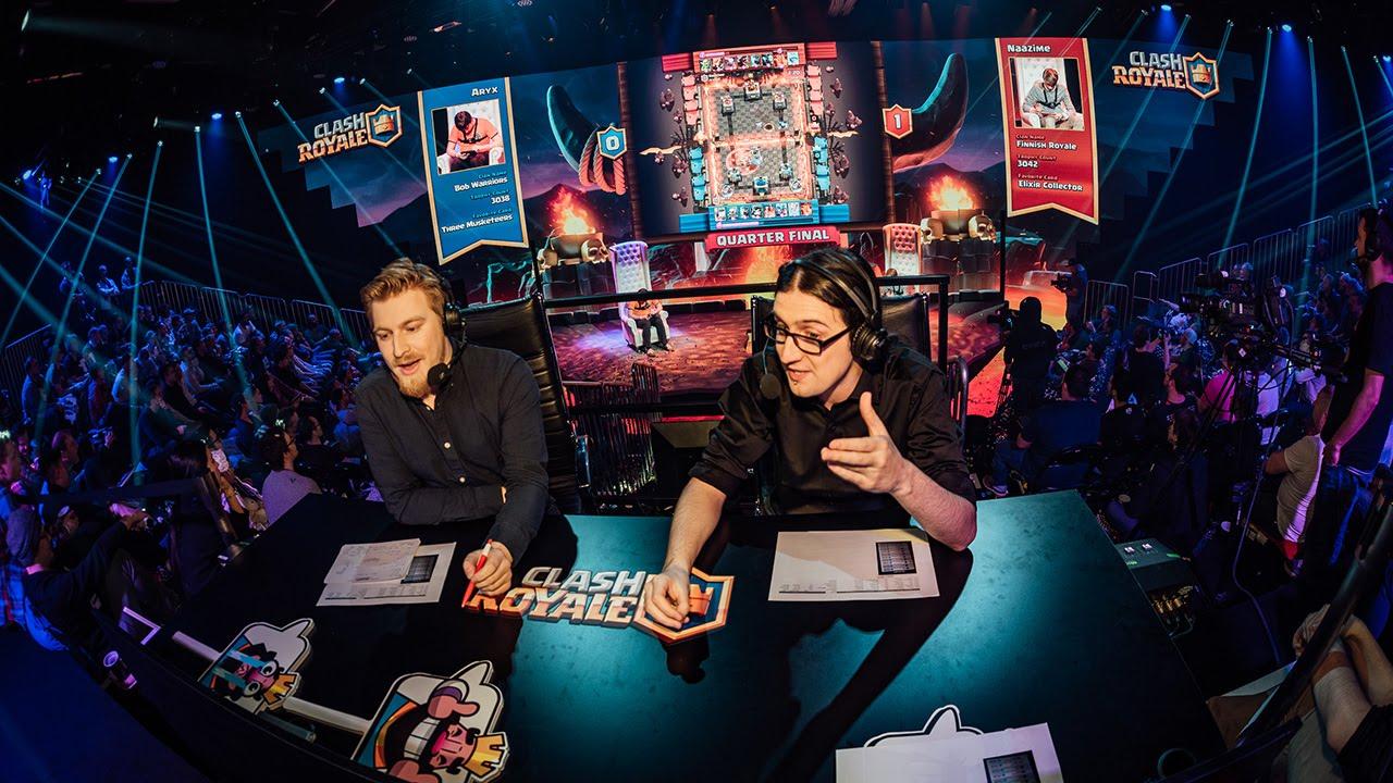 1° Torneio de Clash Royale (Helsinki) - Liveblog + Stream - 1