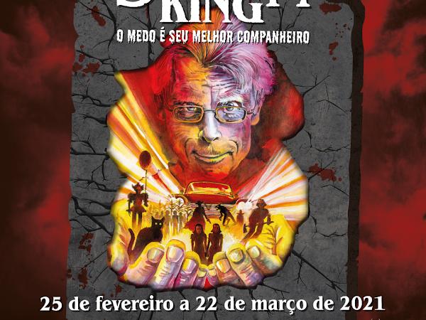 Mostra de Stephen King chega a Belo Horizonte e possui também programação on-line pela Darkflix