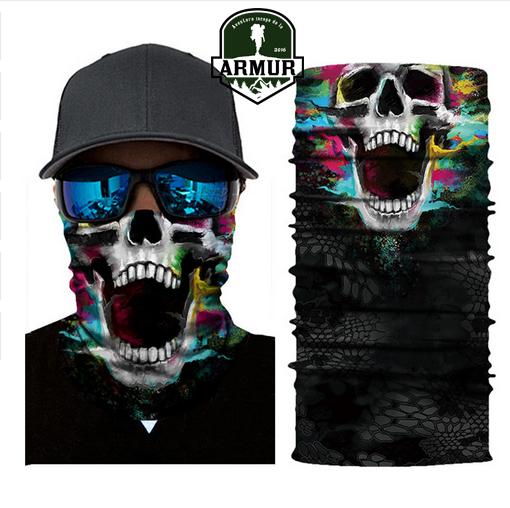 Bandana craniu Skull multifunctional Esarfa buff cagula Scream