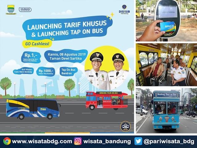 Pemkot Luncurkan Tarif Super Murah Bus TMB dan Cara Baru Bayar Tiket Bus Bandros