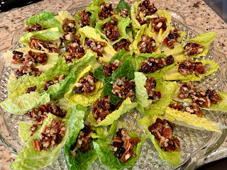 Filled Romaine Lettuce Appetizers