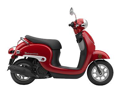 2016 Honda Metropolitan side angle image