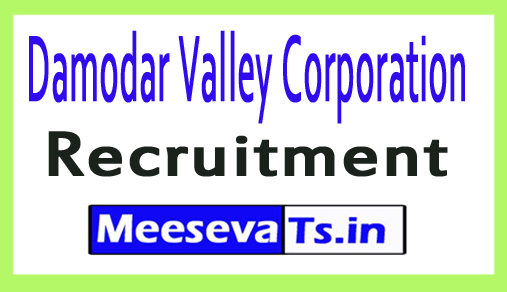 Damodar Valley Corporation DVC Recruitment