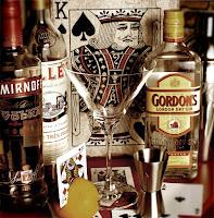 Vodka Martini 'The Vesper', Gordon's Gin, Smirnoff, Lillet