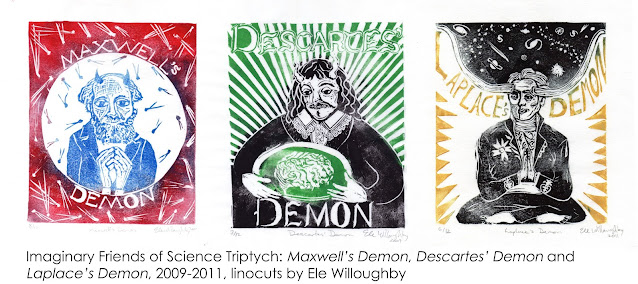 Maxwell's, Laplace's and Descartes' Demons