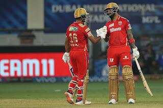 KKR vs PBKS 45th Match IPL 2021 Highlights