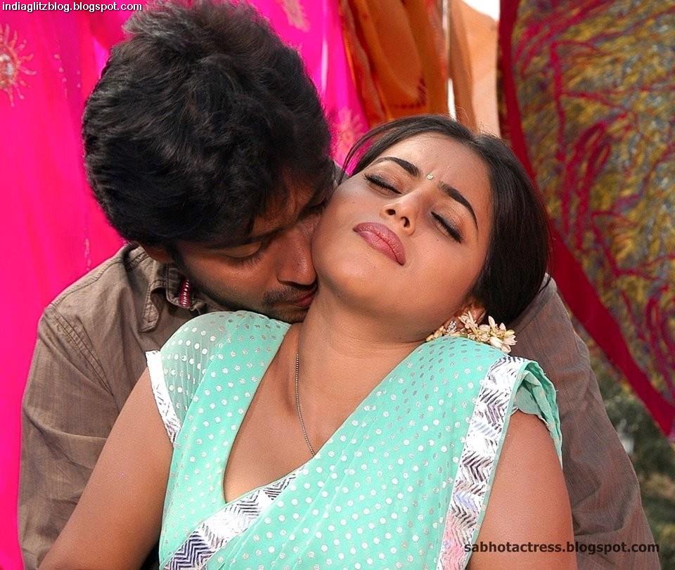 Sexy indian boob press