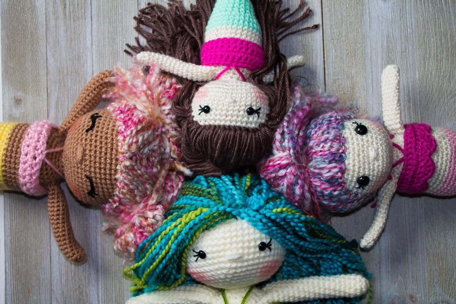 Free Amigurumi Mermaid Patterns : The friendly mermaid crochet doll thefriendlyredfox