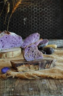 Cách làm bánh mì khoai lang tím thay thế bánh mì trắng 4