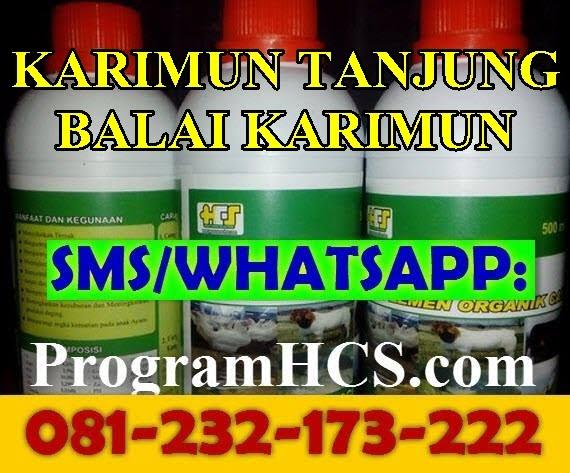 Jual SOC HCS Karimun Tanjung Balai Karimun