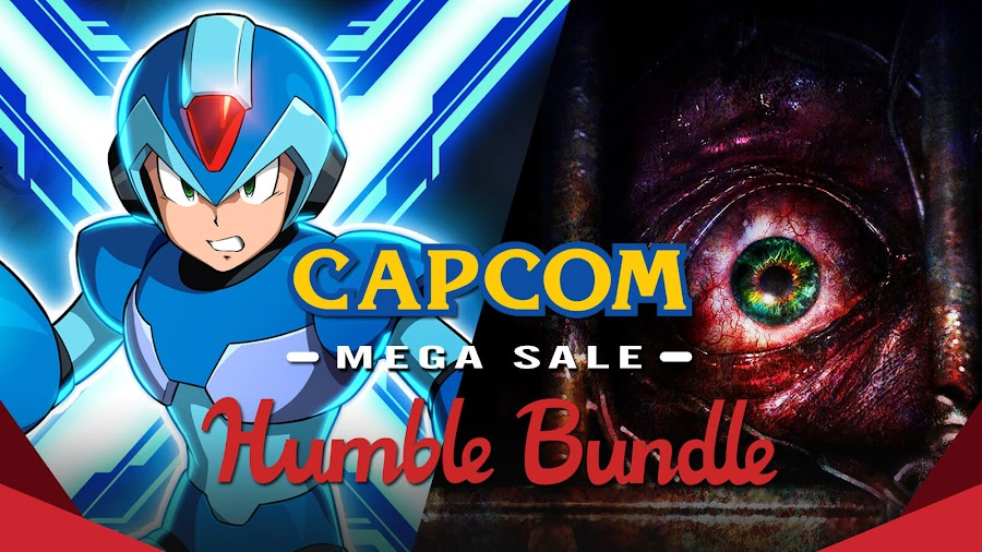 humble capcom mega bundle 2020 mega man x legacy collection resident evil revelations 2 episode 1 penal colony