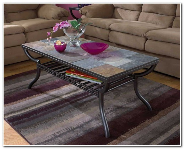 ASHLEY END TABLES AND COFFEE TABLE