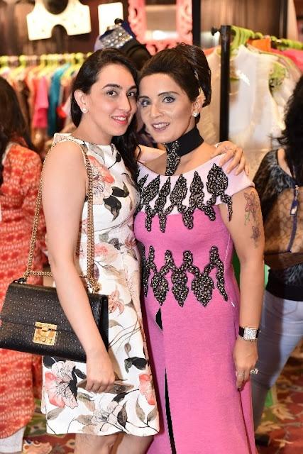 Designer Tanieya Khanuja and Rekha Chawla-min