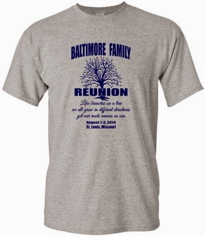 Family Reunion Screen Printed T-shirt