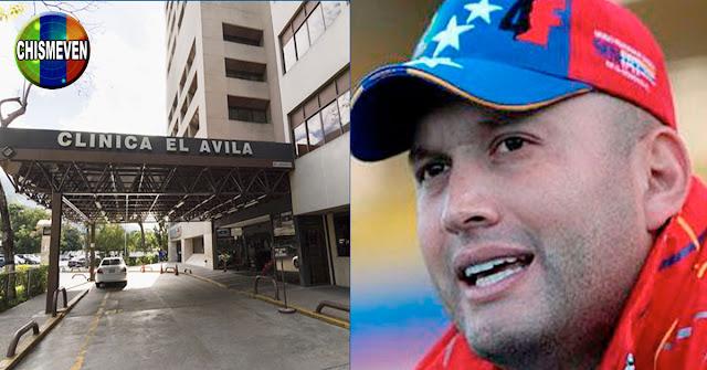 El Potro Álvarez se contagió y fue a una Clínica Privada pero no pisó El Poliedro