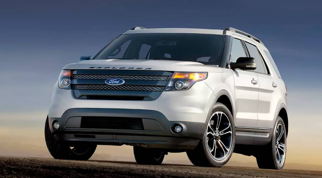 Ford Explorer Exhaust Recall 2017