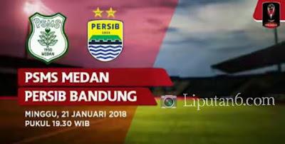 Persib Bandung Tidak Mampu Merebut Kemenangan atas PSMS Medan