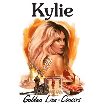 Kylie Minogue - Golden Live In Concert (2019) - Album Download, Itunes Cover, Official Cover, Album CD Cover Art, Tracklist, 320KBPS, Zip album