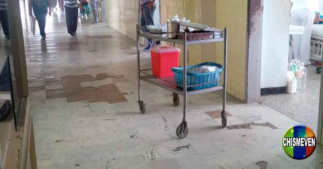Uno de los mejores Hospitales de Venezuela tiene el baño en estas condiciones