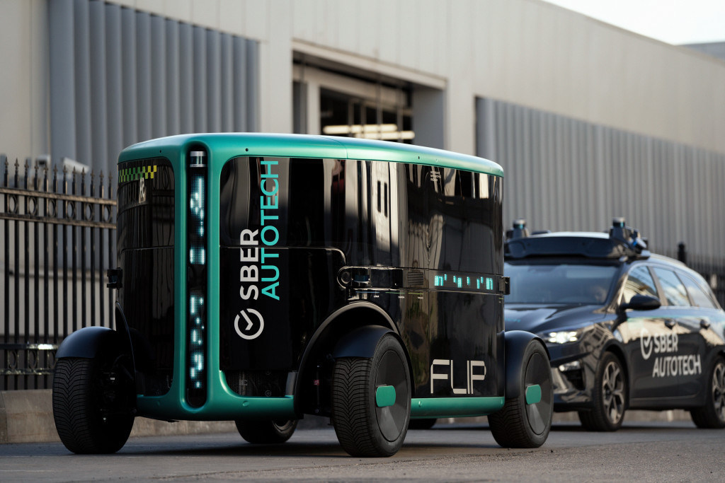 FLIP. First fully autonomous vehicle by SberAutoTech
