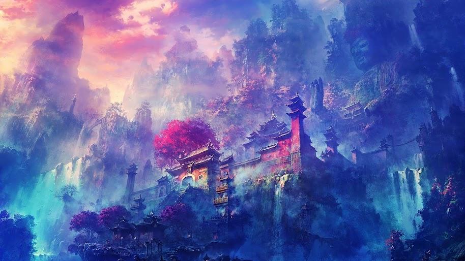 Scenery Anime Wallpaper Hd Portrait