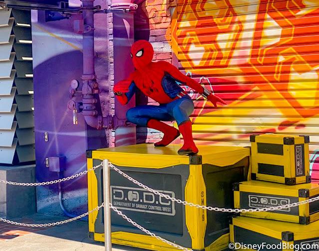 Marvel-Studios-Avengers-Campus-Disneyland-Opening-Spider-Man-Web-Easter-Eggs-Damage-Control